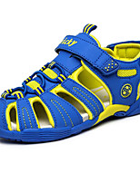 cheap -Boys' Shoes Real Leather Spring Summer Comfort Sandals for Casual Royal Blue Dark Grey Dark Blue