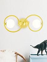 economico -Pretezione per occhi Sfera Per Salotto Metallo Luce a muro 220V 40W