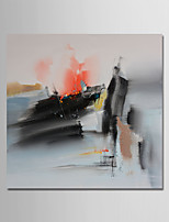 cheap -Hand-Painted Abstract Square, Comtemporary Modern Oil Painting Home Decoration One Panel