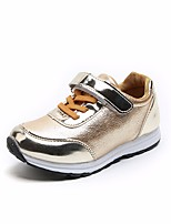 cheap -Girls' Boys' Shoes Leatherette Spring Fall Comfort Sneakers for Casual Gold Silver Dark Grey