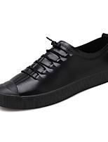 Недорогие -Муж. обувь Резина Весна Осень Удобная обувь Кеды для на открытом воздухе Черный Хаки