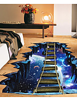 cheap -Abstract 3D Wall Stickers 3D Wall Stickers Decorative Wall Stickers,Paper Home Decoration Wall Decal Floor