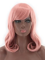 cheap -Synthetic Hair Wigs Wavy Natural Wave Lolita Wig Natural Wigs Cosplay Wig Pink