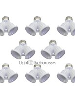 cheap -8Pcs E27 to 2 E27 Bulbs Socket Adapter Bulb Lighting Accessory