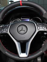 abordables -housses de volant automobile (cuir) pour mercedes-benz toutes les années b200 e classe c classe glc260