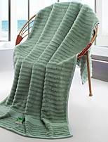 abordables -Style frais Serviette de bain,Rayures Qualité supérieure Pur Coton Etoffe jacquard Serviette