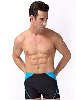 abordables -Homme Couleur Pleine Mode Bas Maillots de Bain Sports & Activités d'Extérieur,Acrylique Bleu Noir