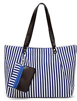 cheap -Women Bags Oxford Cloth Shoulder Bag 2 Pieces Purse Set Zipper for Shopping Casual All Season Red Black Blue