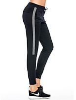 cheap -Women's Running Pants Anti-Slip Pants / Trousers Yoga Running/Jogging Exercise & Fitness Cotton Slim Grey Black XL L M