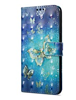 cheap -Case For OnePlus OnePlus 5T 5 Card Holder Wallet with Stand Flip Magnetic Pattern Full Body Cases Butterfly Hard PU Leather for One Plus
