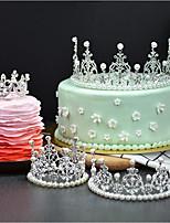 economico -Decorazioni torte Fiaba Romanticismo Compleanno stile sveglio Da principessa Lega Matrimonio Compleanno con Con diamantini 1 OPP