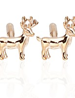 cheap -Button Golden Cufflinks Animals Daily Festival Men's Costume Jewelry