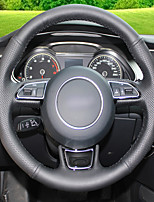 cheap -Automotive Steering Wheel Covers(Leather)For Audi A5 Strip Model
