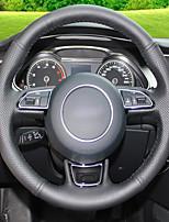 abordables -Couvertures de volant automobile (cuir) pour audi a5 strip modèle