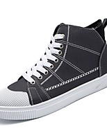cheap -Shoes Fabric Canvas Spring Fall Comfort Sneakers for Casual Black Gray Green