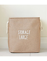 cheap -Linen/Polyester Blend Envelope / Rectangular Multifunction Home Organization, 1pc Storage Bags