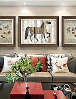 cheap -Animals Wall Art,PS Material With Frame For Home Decoration Frame Art Living Room