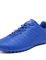 Недорогие -Девочки обувь Искусственное волокно Весна Осень Удобная обувь Спортивная обувь Voetbal для Атлетический Красный Светло-Зеленый Тёмно-синий