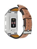economico -Cinturino per orologio  per Fitbit ionic Fitbit Custodia con cinturino a strappo Chiusura classica Vera pelle