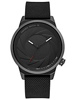 cheap -CADISEN Women's Fashion Watch Japanese Quartz Water Resistant / Water Proof Casual Watch Silicone Band Fashion Cool Black