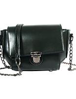 cheap -Women Bags PU Shoulder Bag Buttons Zipper for Casual All Season Brown Dark Green Gray Red Black