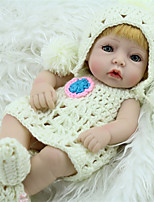 cheap -NPK DOLL Reborn Doll Classic Baby 28cm Vinyl lifelike Cute Child Safe Parent-Child Interaction Lovely Non Toxic All