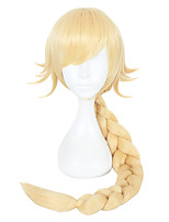 cheap -Synthetic Hair Wigs Straight Cosplay Wig Blonde
