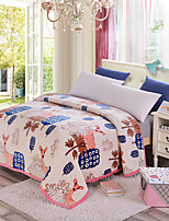 cheap -Super SoftPrinted Floral Polyester Blankets