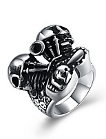 cheap -Men's Statement Rings , Classic Vintage Fashion Stainless Steel , Jewelry Graduation Club