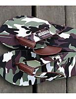 Недорогие -Муж. обувь ПВХ Весна Лето Удобная обувь Тапочки и Шлепанцы для Повседневные Серый Военно-зеленный