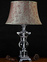 cheap -Retro/Vintage Crystal Table Lamp For 220V Fuchsia