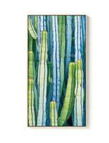 Недорогие -Цветочные мотивы/ботанический Иллюстрации Предметы искусства,Полистирен материал с рамкой For Украшение дома Предметы искусства в рамках