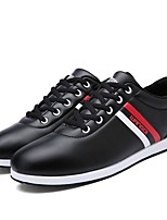 cheap -Men's Shoes PU Spring Fall Comfort Sneakers for Office & Career Party & Evening Black Brown Blue