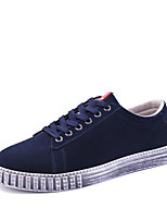 cheap -Men's Shoes PU Spring Fall Comfort Sneakers for Casual Black Gray Blue