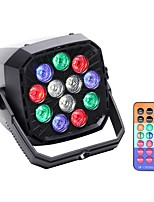 cheap -LED Stage Light / Spot Light LED Par Lights DMX 512 Master-Slave Sound-Activated Auto Remote Control 36 for Stage Bar Club