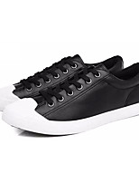 cheap -Men's Shoes PU Spring Fall Comfort Sneakers for Casual Black Gray Army Green