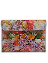 abordables -Coque Pour Mini iPad 3/2/1 iPad Mini 4 Universel Portefeuille Coque Intégrale Fleur Dur Cuir véritable pour