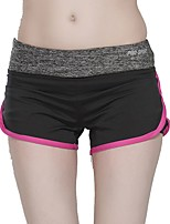 cheap -Women's Running Shorts Wearable Bottoms Running/Jogging Polyester Spandex Slim Pink Green White L M S