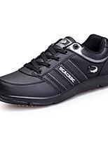 Недорогие -Для мужчин обувь Полиуретан Весна Осень Удобная обувь Кеды для Белый Черный Коричневый