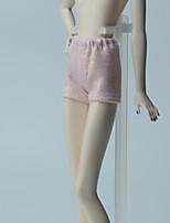 Недорогие -Брюки Шорты, брюки и колготки Для Кукла Барби Светло-розовый Брюки Для Девичий игрушки куклы