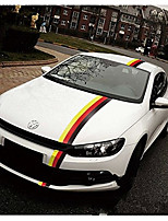 cheap -50*15CM German Flag Color Decal Stickers for Cars & Trucks