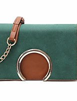 cheap -Bags PU Shoulder Bag Pocket for Casual All Seasons Green