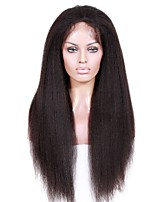 cheap -Premierwigs Affordable Glueless Human Hair Lace Front Wigs Brazilian Remy Human Hair Wigs Kinky Straight For African Women