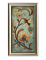 cheap -Oil Painting Wall Art,Wood Material With Frame For Home Decoration Frame Art Living Room Indoors