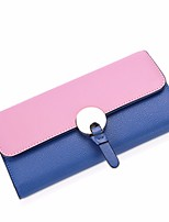 cheap -Women Bags Polyester Wallet Buttons for Casual All Season Black/White Yellow Blue