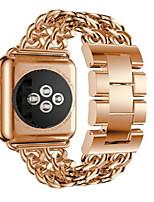 cheap -Watch Band for Apple Watch Series 3 / 2 / 1 Apple Wrist Strap Modern Buckle Metal