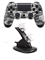 economico -controller di gioco bluetooth wireless gamepad controller joystick gamepad con doppio caricatore per ps4