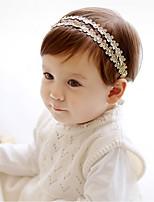cheap -Girls' Hair Accessories,All Seasons Others Headbands-Gold