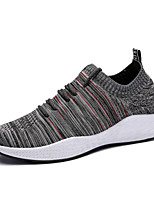 cheap -Shoes Knit Spring Summer Comfort Sneakers for Casual Outdoor Black Gray Black/Blue