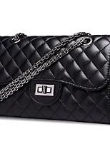 cheap -Women Bags PU Cotton Shoulder Bag Buttons for Casual All Season Black